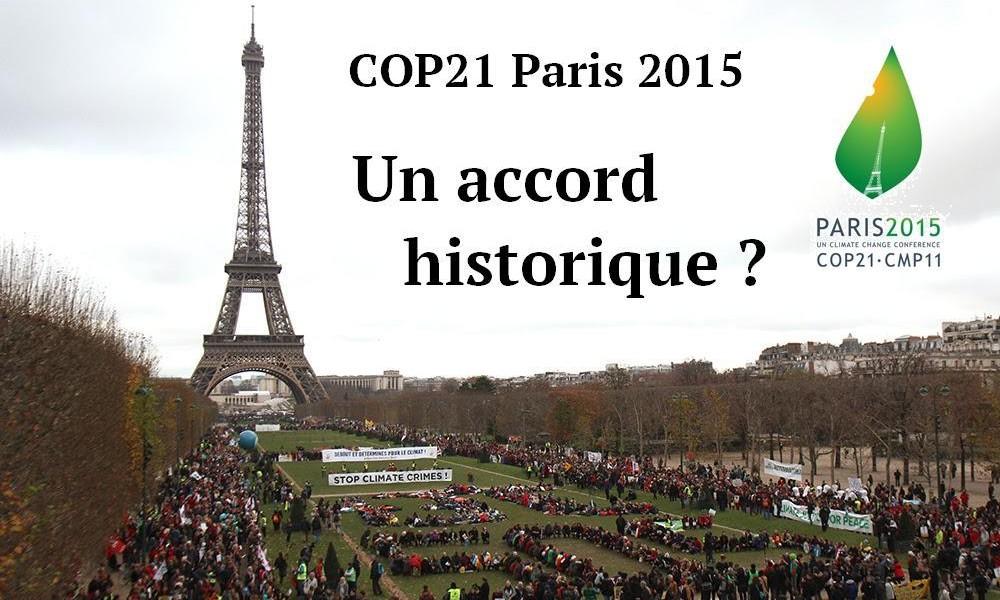 COP21 Climat EELV IDF