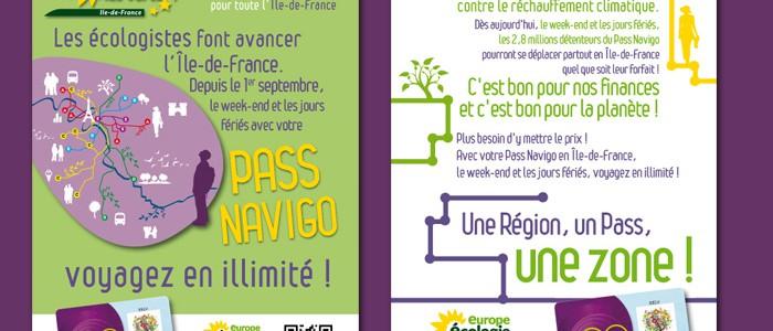 Pass Navigo écologiste